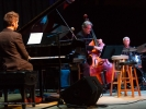 The Festival New Jazz Trio with Julian Pollack, Trey Henry and Ralph Humphrey.