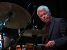 Ralph Humphrey on drums with the Festival New Jazz Trio