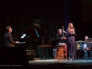 Tierney Sutton sits in with the Festival New Jazz Trio