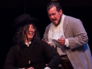 The substitue music teacher, Count Almaviva in a new disguise, and Dr. Bartolo