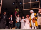 Final bow, with flowers, for The Barber of Seville.