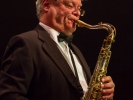 Francis Vanek solos with the MMF Big Band