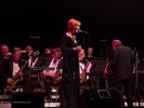 Vocalist Kathleen Grace with the Festival Big Band.