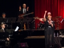 Kathleen Grace with the MMF Big Band rhythm section and Julian Pollack.