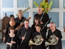 The Festival Chamber Players wind octet