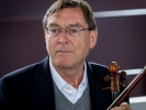 Principal Violinist Roy Malan during intermission
