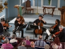 The Festival Chamber Players performing Mozart's Viola Quintet