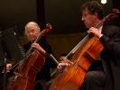 Principal cellist Stephen Harrison and Marcia Sloane