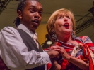 Frederica von Stade and music student Jeremiah Smith sang an aria from Marriage of Figaro in Orchestra Concert No. 2, July 22