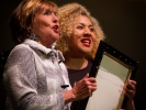 Frederica von Stade and Melissa Angulo sang a duet aria praising their men from Cosi fan tutte.