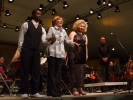 Jeremiah Smith, Cristina von Stade and Melissa Angulo take a bow.