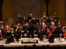 The core of the MMF orchestra with Maestro Allan Pollack