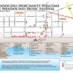 2015 Mendocino Merchants Map